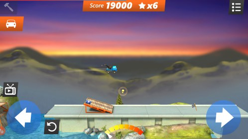 Bridge Constructor Stunts FREE for Philips W536