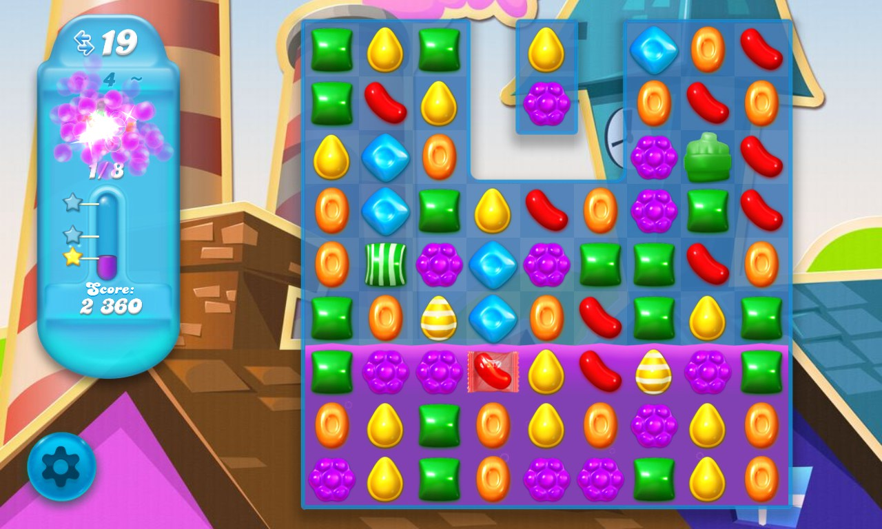 Candy Crush Saga Crush em Hard Review