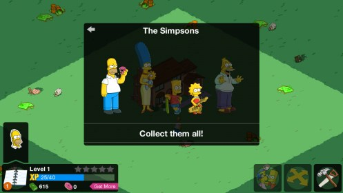 The Simpsons™: Tapped Out for Sony Xperia SP