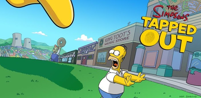 The Simpsons Tapped Out Para Advent Vega Tablet 2018 Descarga