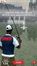 Rapala Fishing - Daily Catch for HTC Desire 310