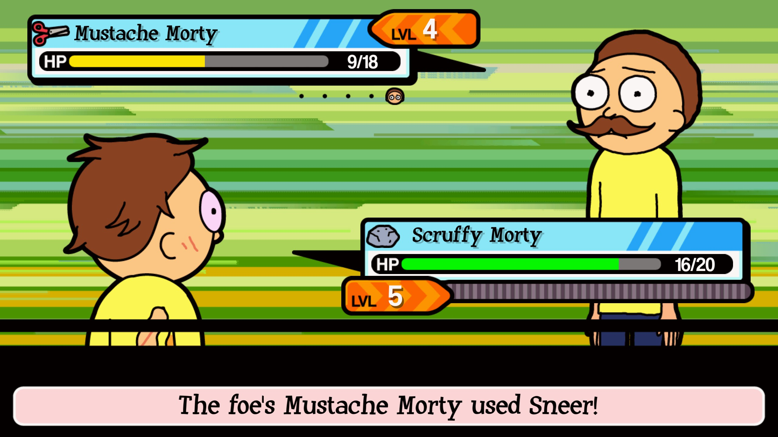 how to make all mortys pocket mortys