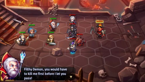 Heroes Tactics: Strategy PvP for Samsung Galaxy Fame