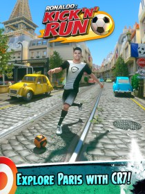 Cristiano Ronaldo: Kick'n'Run for Vivo Xshot