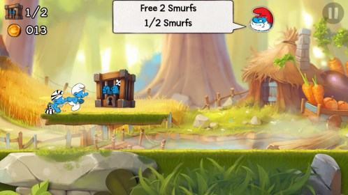 Smurfs Epic Run for Sony Ericsson Xperia Active