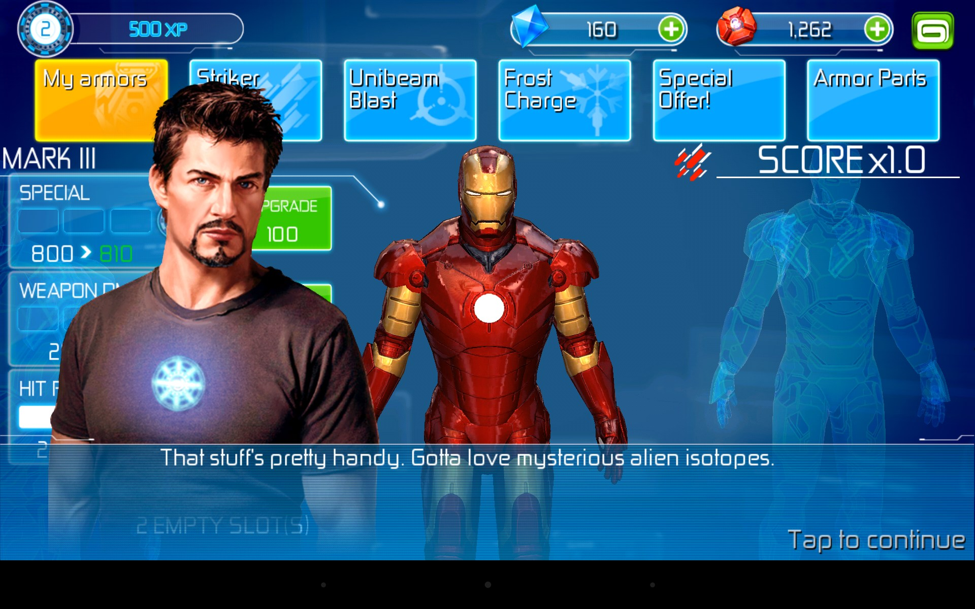 iron man 2 gameloft android