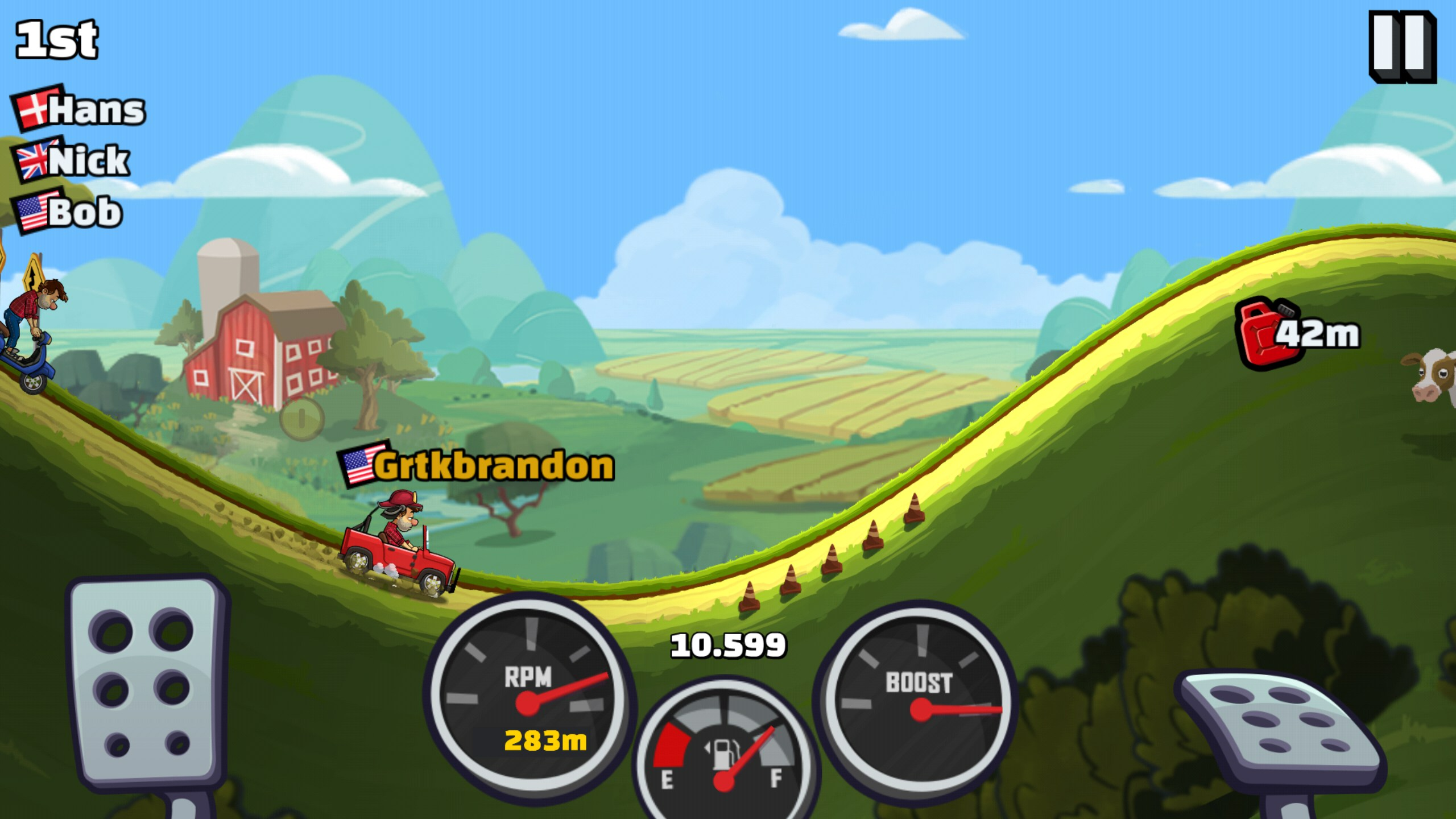 hill climb racing 2 - games for android 2018 -