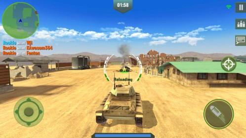 War Machines: Free Multiplayer Tank Shooting Games for Samsung GT-S5360 Galaxy Y