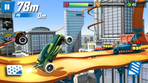 Hot Wheels: Race Off for Samsung GT-S5830 Galaxy Ace