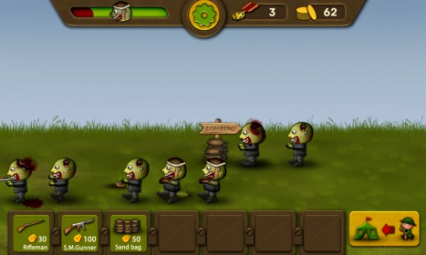 Soldiers vs Zombies Defense