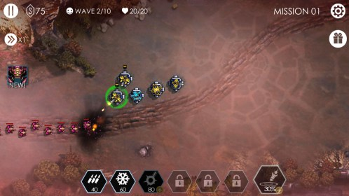 Tower Defense: Invasion HD for Alcatel One Touch Idol Alpha