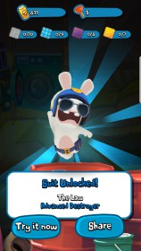 Rabbids Crazy Rush for China HTC HD7+ (Pro)