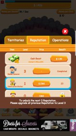 Oil Tycoon - Idle Clicker Game for LG P760 Optimus L9