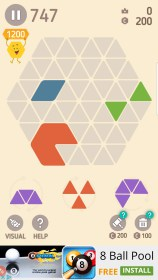 Make Hexa Puzzle for Sony Xperia Z