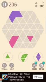 Make Hexa Puzzle for HTC Zara