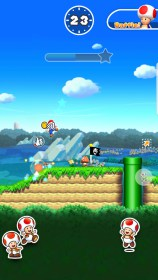 Super Mario Run for Sony Ericsson Xperia X10 mini pro