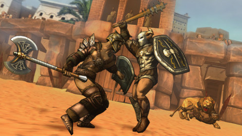 free gladiators games