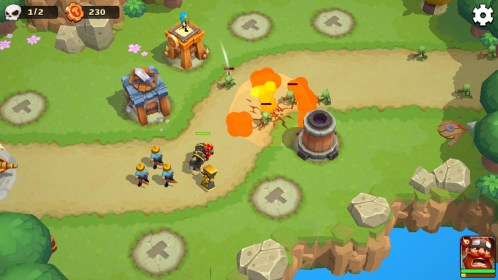 Wild Sky TD - Epic Hero Tower Defense RPG