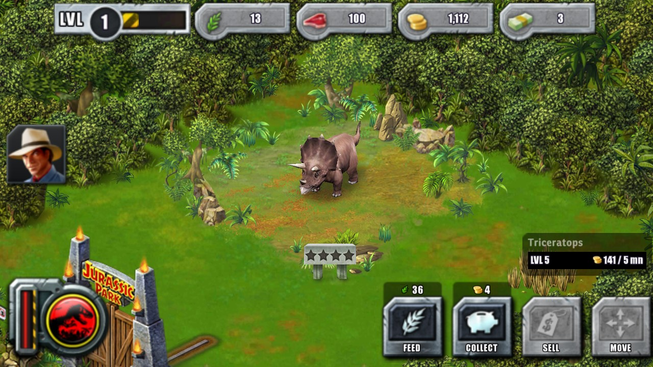 Jurassic Park: Builder – Games for Android – Free download ...
