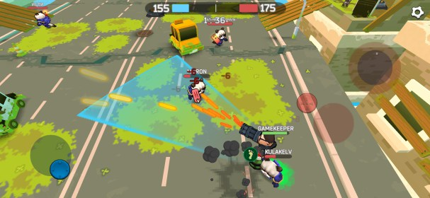 Fury Wars - online shooting game, third person.