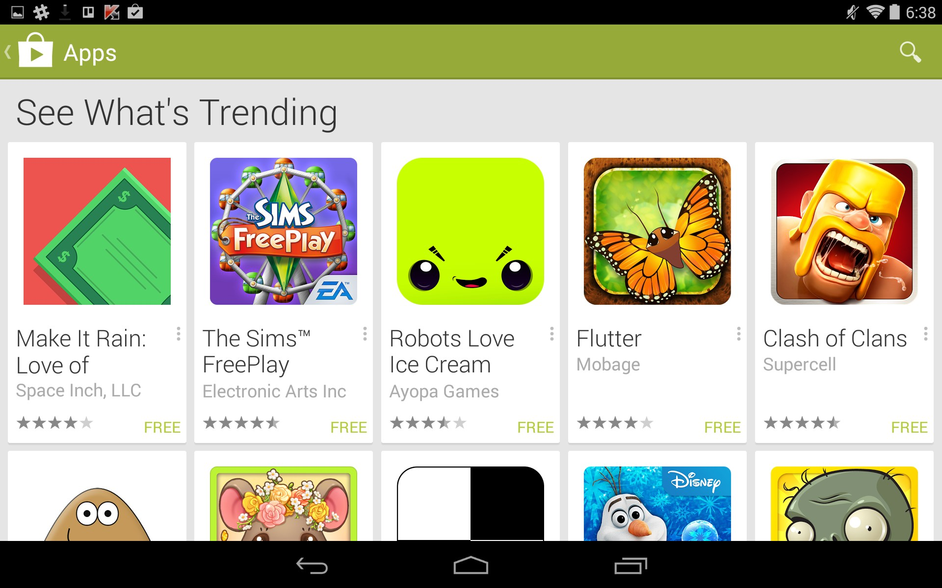 google play all free games