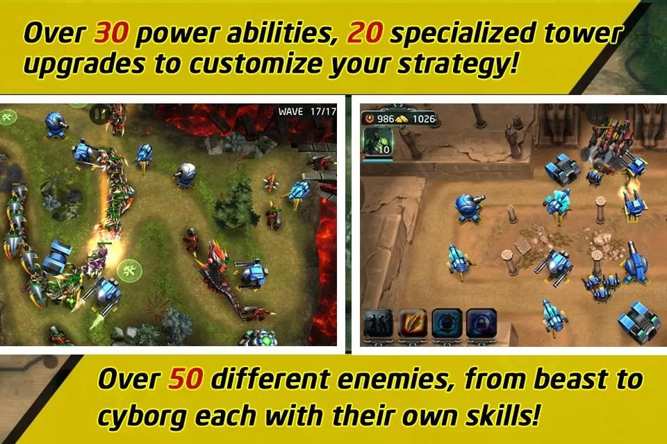 defence games for android free