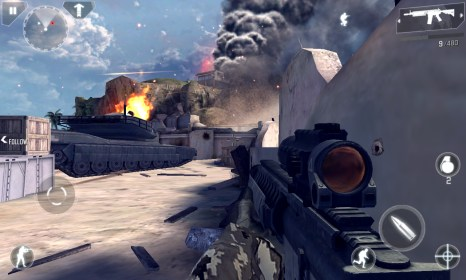 Modern Combat 4 for Nokia Lumia 720