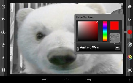 Color Splash FX for SmartQ Q8