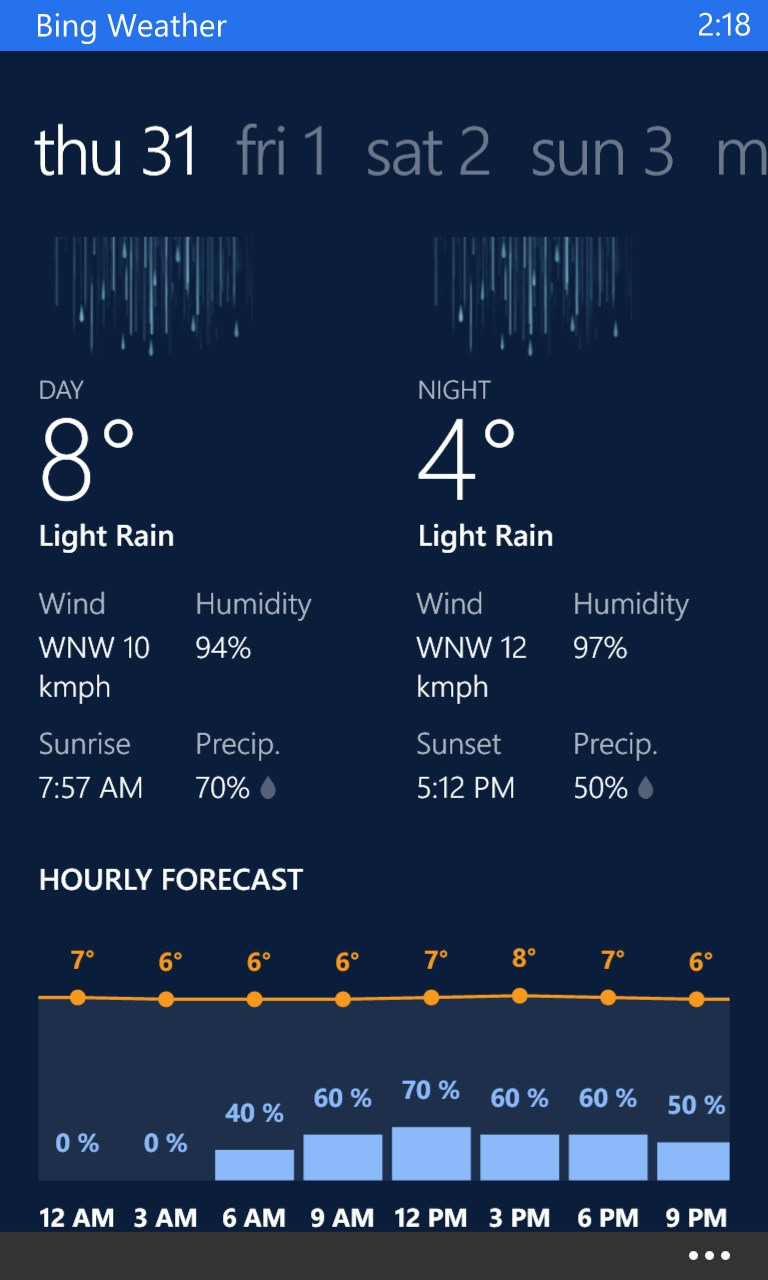 accuweather download for nokia