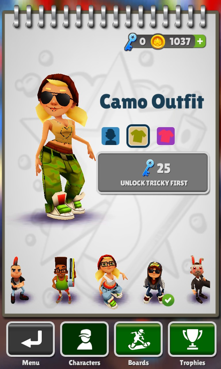 Subway Surfers Game Free Download For Nokia C7