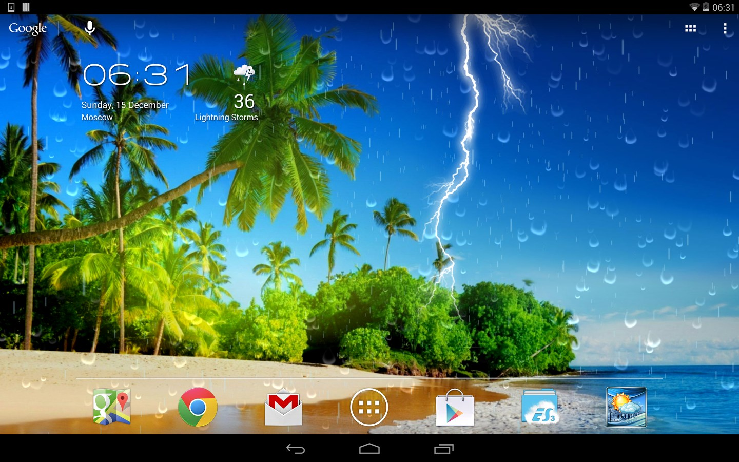 Weather Screen - Soft for Android 2018. Weather Screen ...