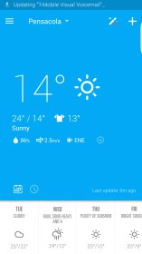 EZ Weather HD Beautiful Widget for HP Slate 10 HD