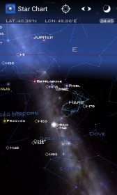 Star Chart for LG GT540 Optimus