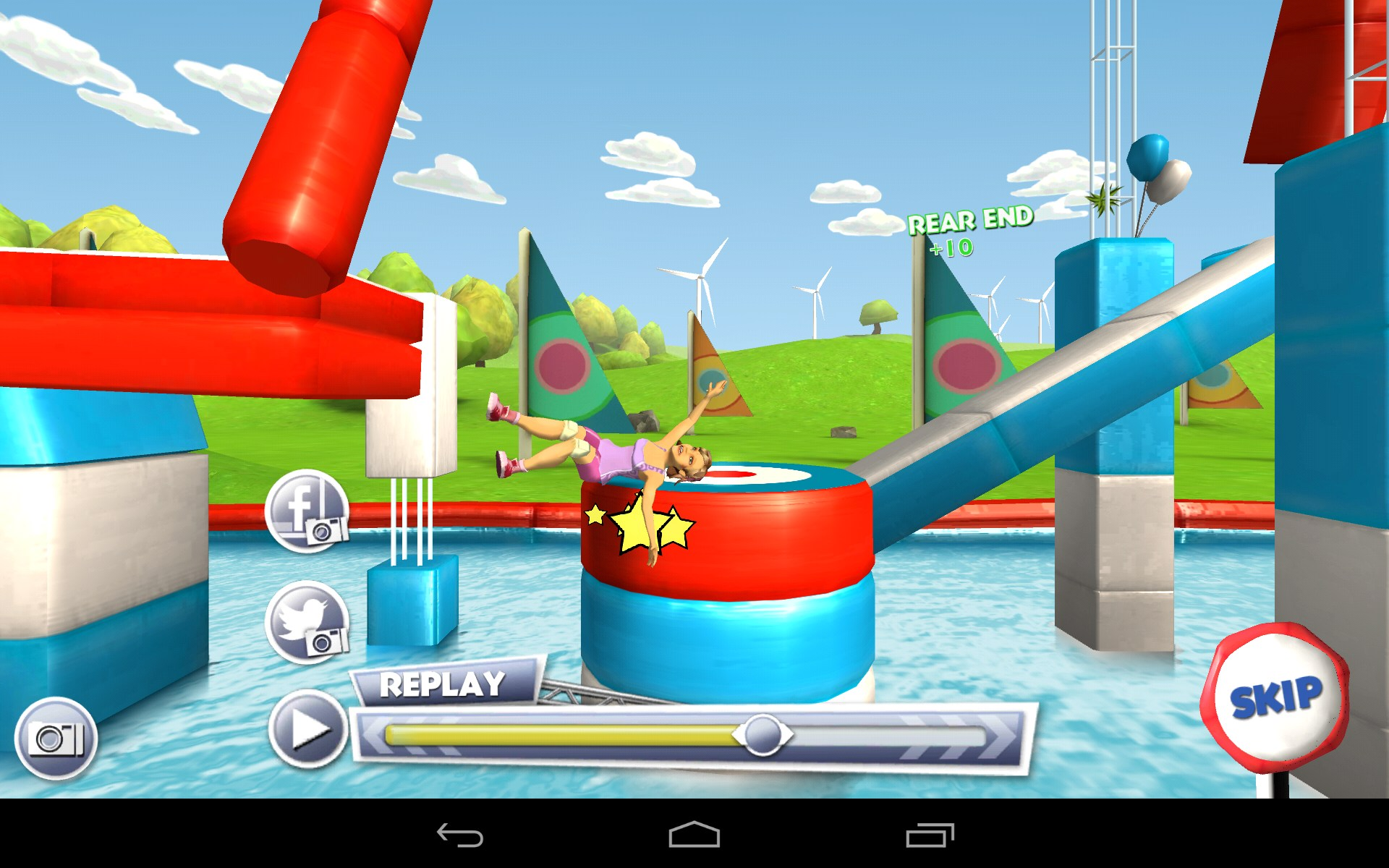 how to play wipeout game