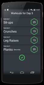 30 Day Abs Core Challenge
