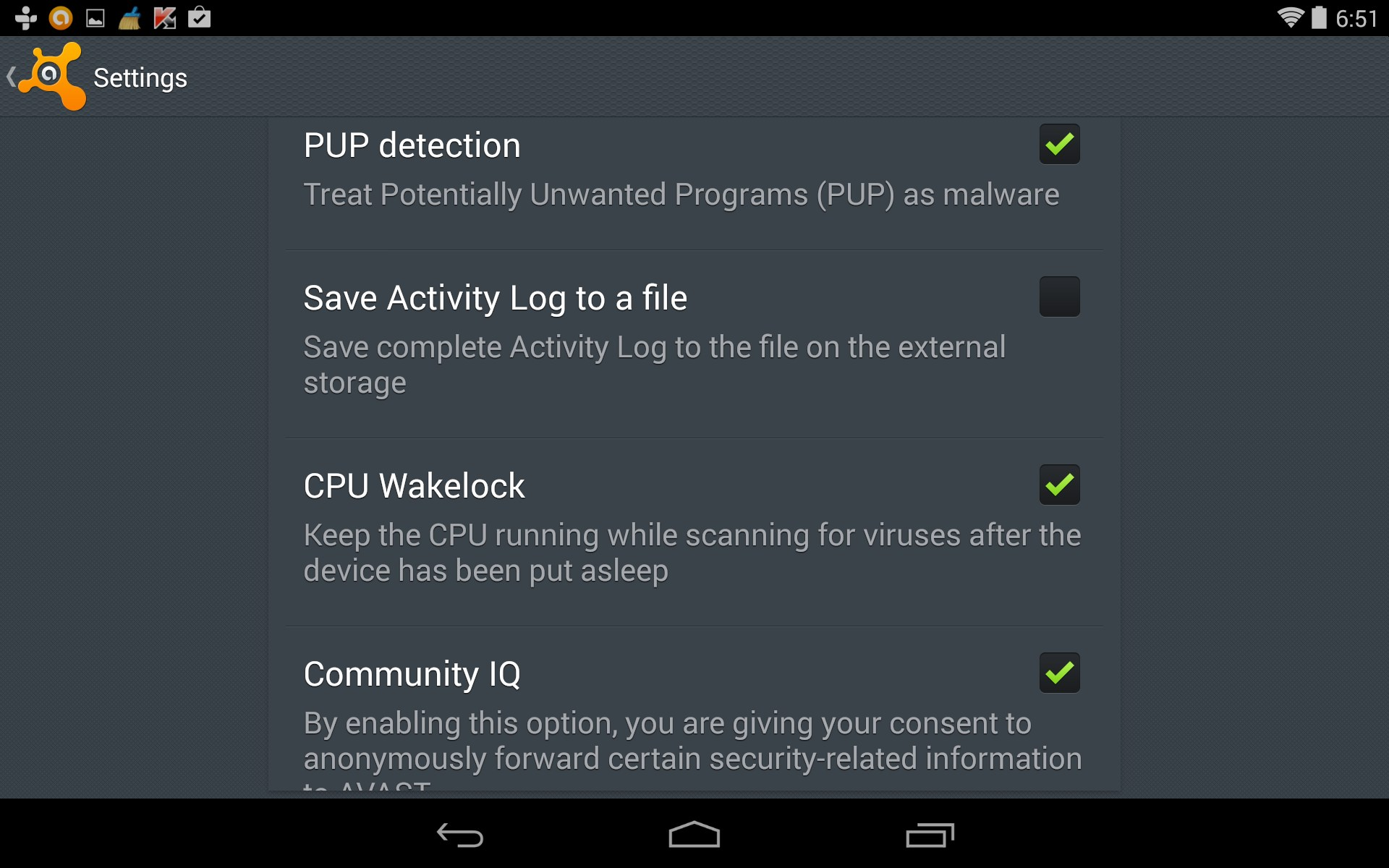 avast! Mobile Security – Soft for Android 2018 – Free