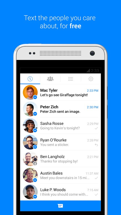 Facebook Messenger – Soft for Android 2018 – Free download  Facebook
