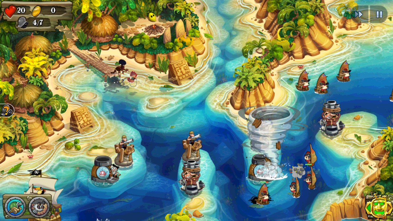 Pirate Legends TD – Games for Android 2018 – Free download  Pirate