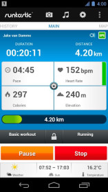 runtastic for Samsung GT-I8160 Galaxy Ace 2