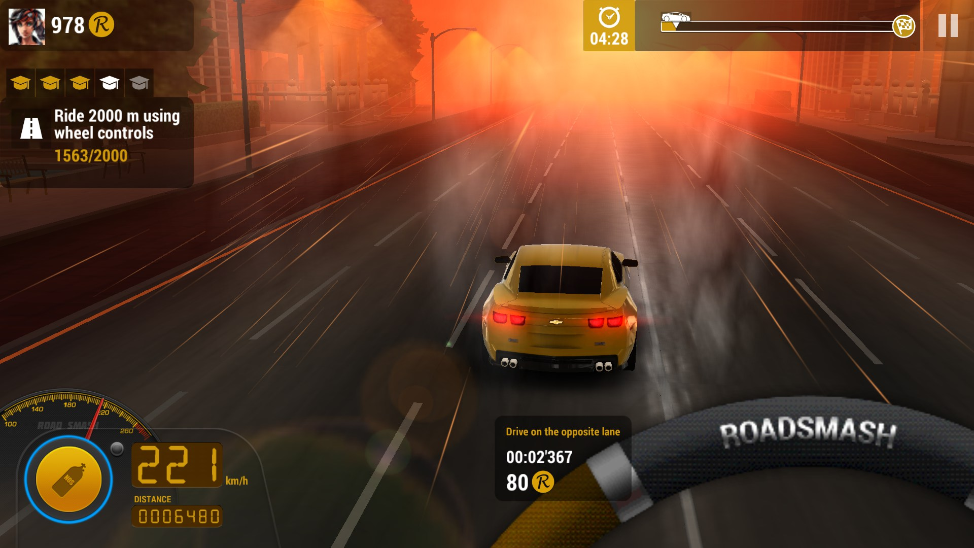 یاری بۆ ئه‌ندرۆید Road Smash 2: Hot Pursuit v1.4.5 MOD Apk [Unlimited Money]