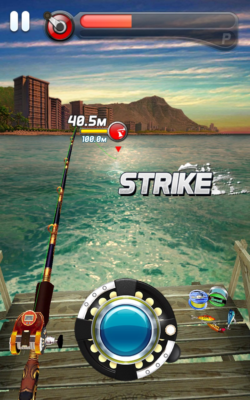 Ace fishing wild catch games for android 2018 free for Free online fishing games
