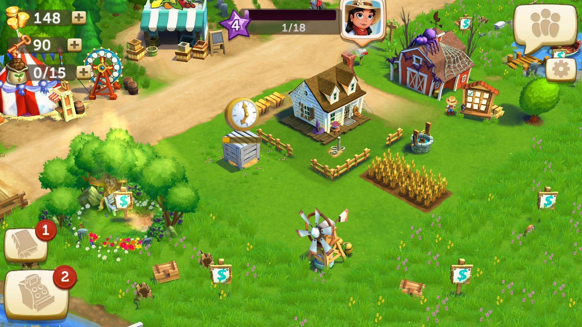 Play Farmville 2 On My Android 4 0 3 Tablet Android App Android  Apps