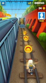 Subway Surfers para Samsung GT-S5300 Galaxy Pocket