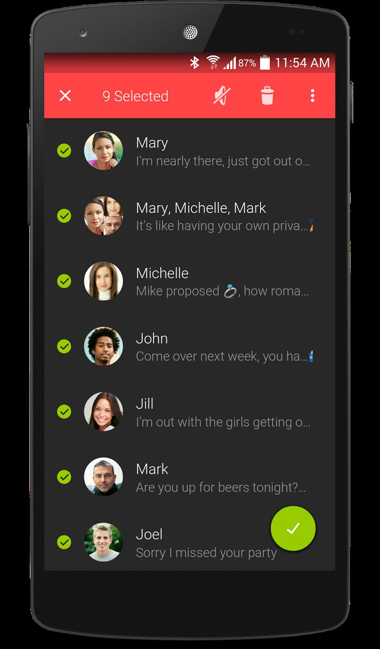 Textra SMS – Soft for Android 2018 – Free download  Textra