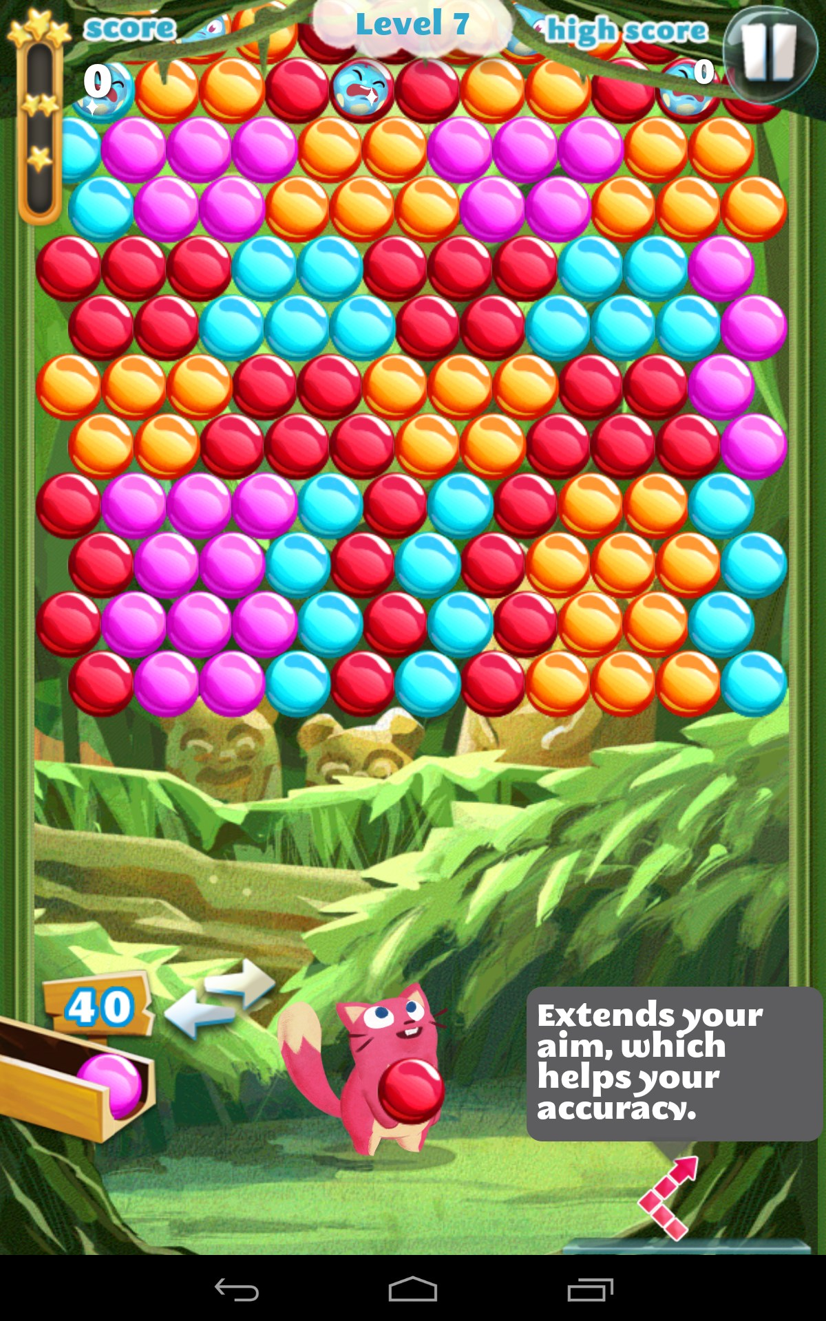 match 3 bubble games