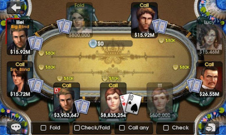 DH Texas Poker for Huawei Ascend G615