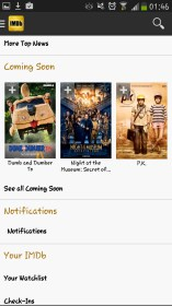 IMDb Movies & TV per Sony Ericsson Xperia X10 mini pro