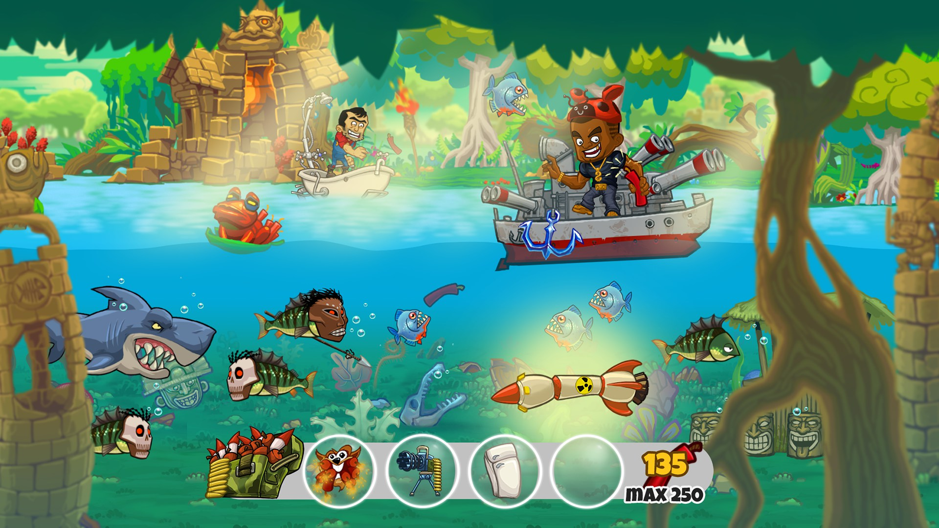 Dynamite fishing world games games for android 2018 for Fish arcade game