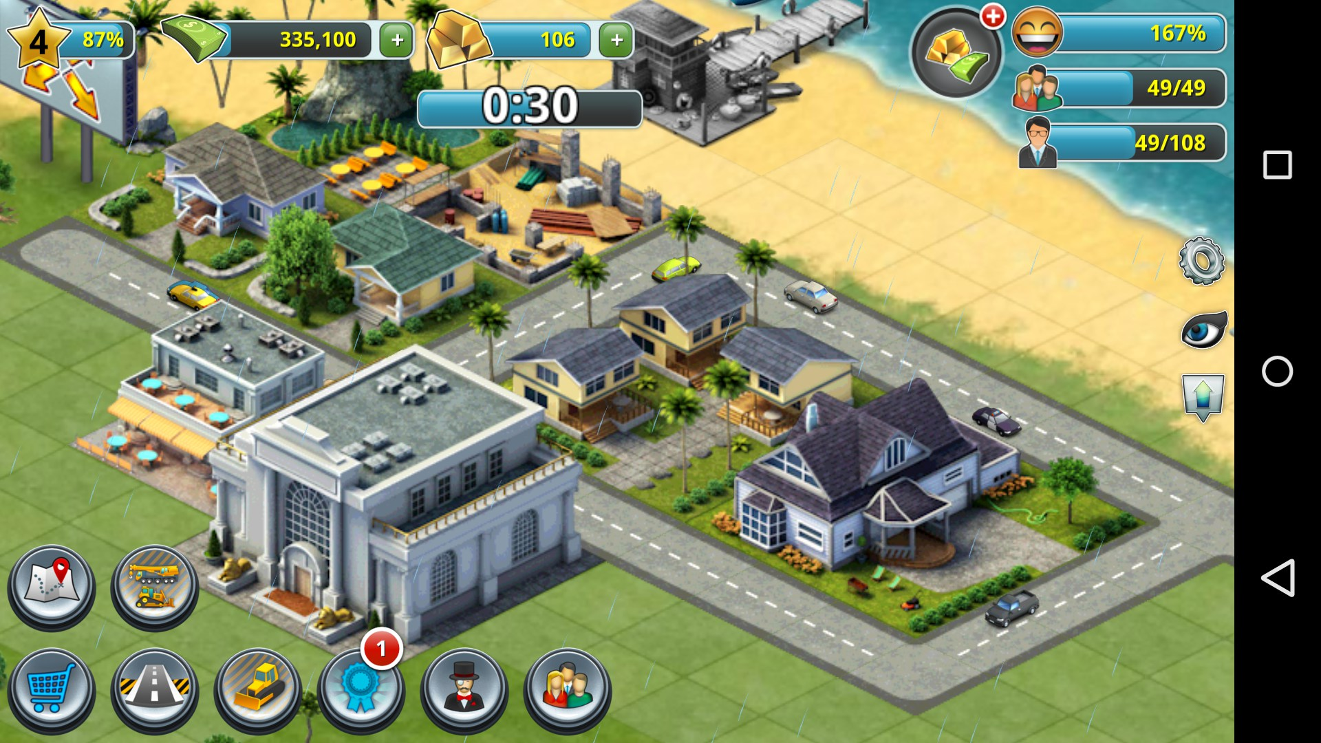 City island 3 building sim games for android free for House builder online free