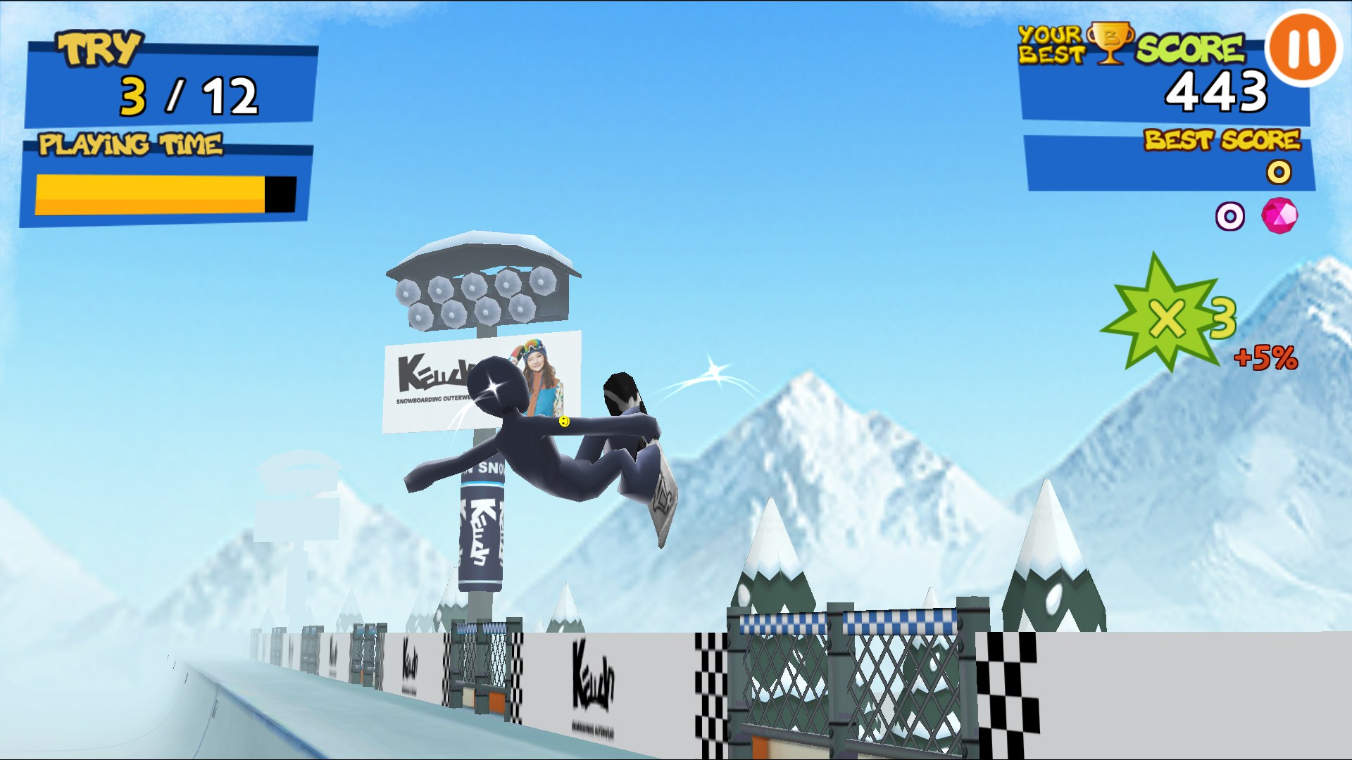 snowboarding games